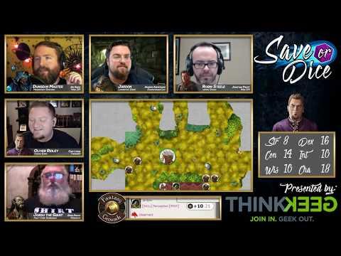 Save or Dice | Episode 4 - Speechless | Web DM, Nerdarchy, Taking20, DawnforgedCast
