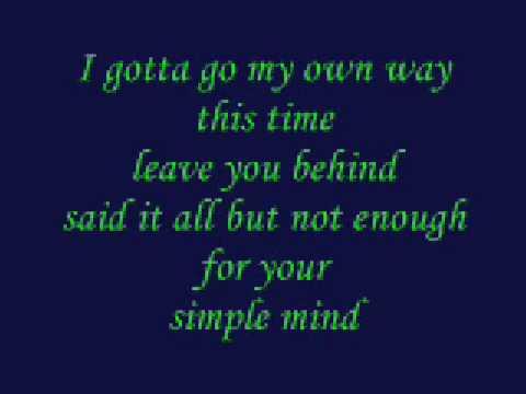 Wasteland by Trapt with lyrics