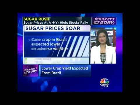 SUGAR RUSH. Sugar Prices At A 4-Yr High; Stocks Rally