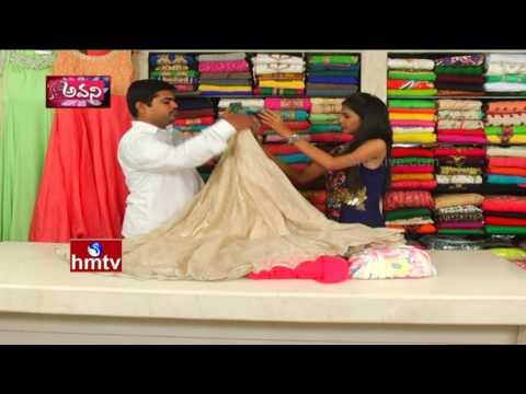 Special Designer Floral Dresses | Srinivasa Textiles In Banjara Hills | Sogasu Chooda Tharama | HMTV