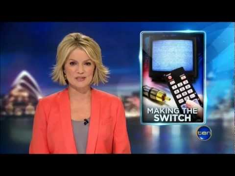 Ten News Sydney - Adelaide switches off analogue TV Signal - 2/4/2013