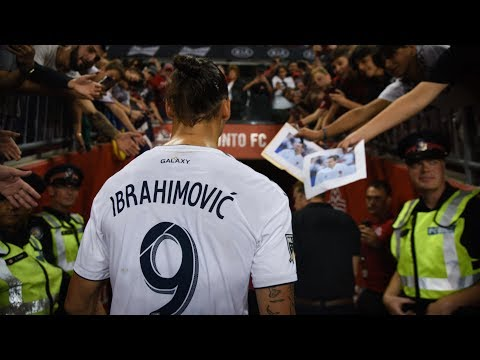 Zlatan Ibrahimovic speaks after scoring 500th career goal against Toronto FC