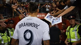 Zlatan Ibrahimovic speaks after scoring 500th career goal against Toronto FC