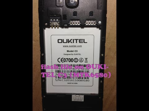 Rom OUKITEL C3 || Here how to flash file on OUKITEL C3 (MTK6580) With SP-Flash Tool