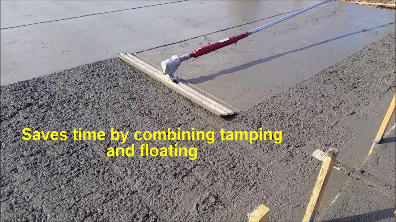 The Most Versatile Vibrating Concrete Tool In The World