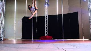 3rd Place Kira E. Professional - 2015 Epic Pole Dance Competition