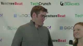 Angel Investor of the 2012, Chris Dixon, Backstage Interview | TechCrunch 2012 Crunchies