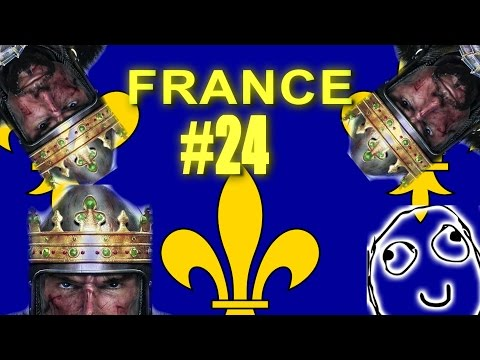 TOTAL FUCKING IDIOT CAMPAIGN - France - Medieval II: Total War #24