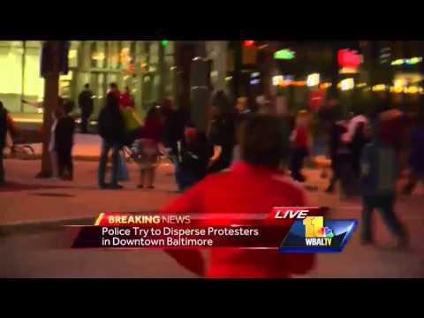 Car Drives Through Blm Protestors