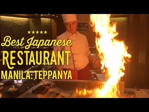 Best Japanese Restaurant Manila: Teppanya Sushi and Wagyu Te