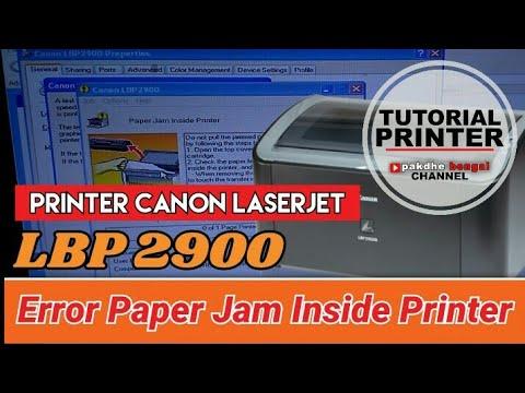 Paperjam Inside Printer Printer Canon Laserjet Lbp 2900 Paper Jam