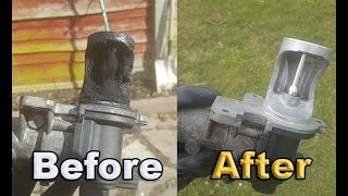 How to Clean an EGR Valve......... Probably the best video ever