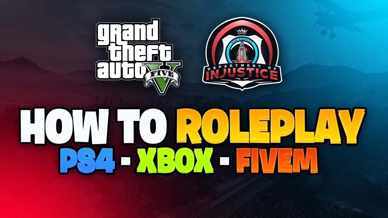 HOW TO JOIN THE BIGGEST PS4 & XBOX 1 & FiveM GTA 5 ROLEPLAY SERVER