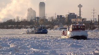 Ice Breaking Operations on the Niagara River