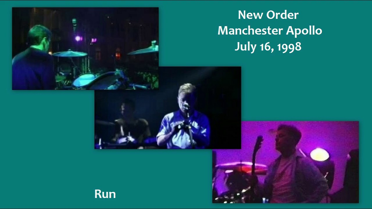Image result for new order manchester apollo 1998