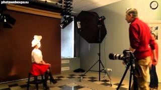 Beauty-съёмка c жестким светом. Видео урок фотографии Дениса Щигловского. Часть 1