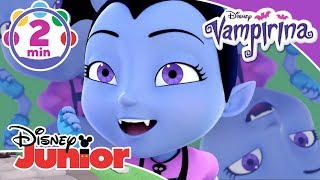 Vampirina | 'The Spinechiller ' Halloween Mash-Up Music Video 🎶 | Disney Junior UK
