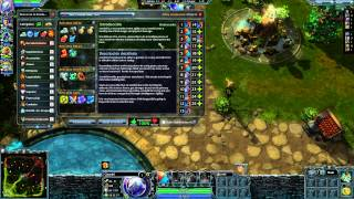Heroes of Newerth Gameplay on Microsoft Surface Pro intel hd 4000