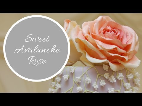 SWEET AVALANCHE ROSE Tutorial | By Ilona Deakin From Tiers Of Happiness