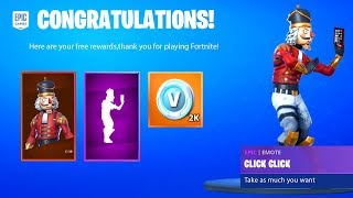*NEW* Get Free EMOTE & V-BUCKS in Fortnite Season X (Leaked Builtin Emote Season 10)