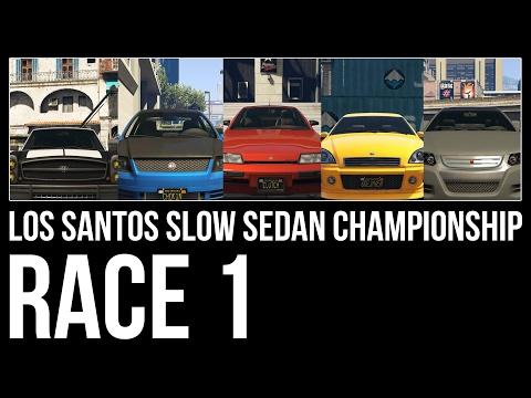 Los Santos Slow Sedan Championship | Race 1 | LSGP Inner Loop Revised (17.07.2016)