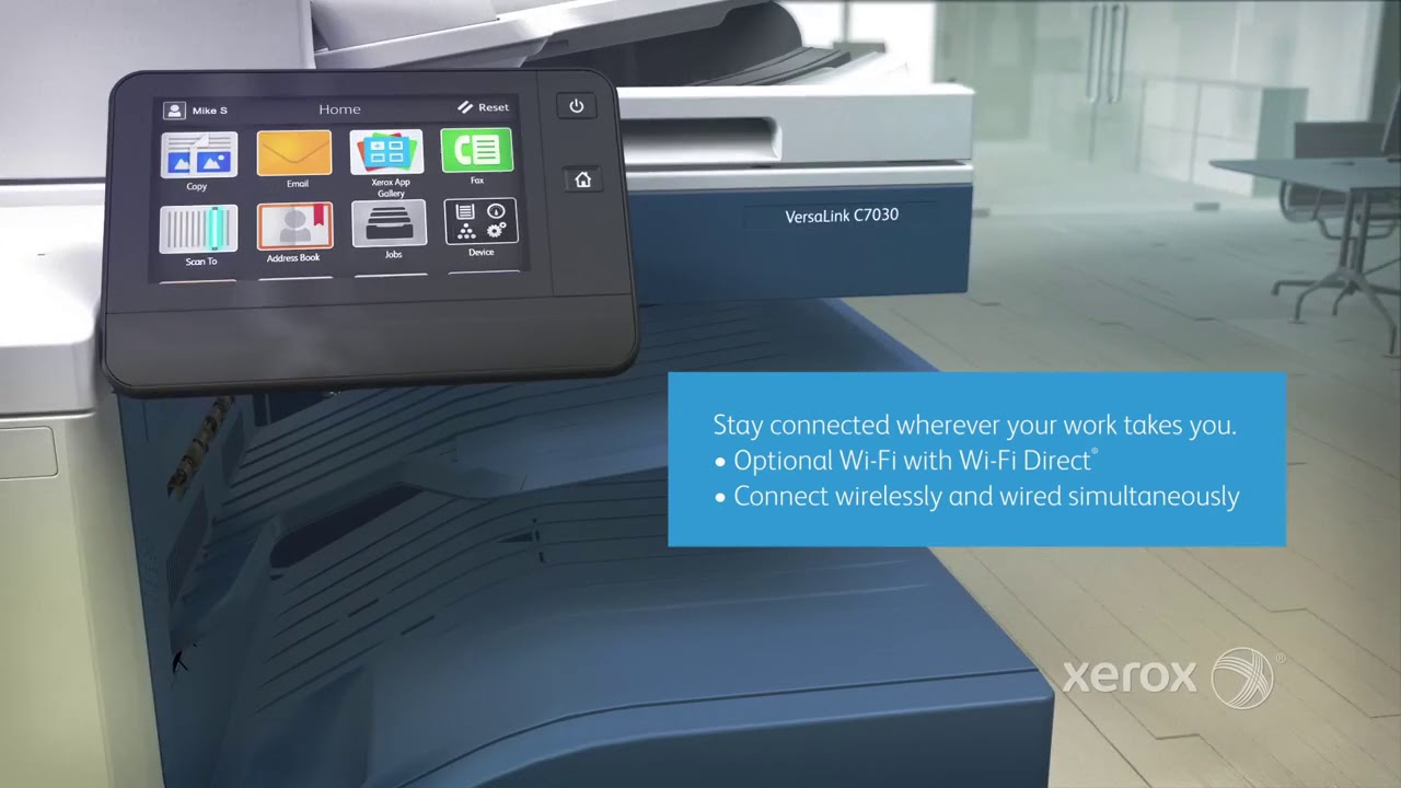VersaLink C7000 Series Color Multifunction Printer | Image