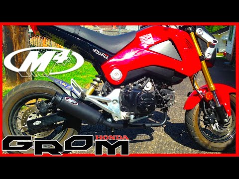 grom m4 exhaust