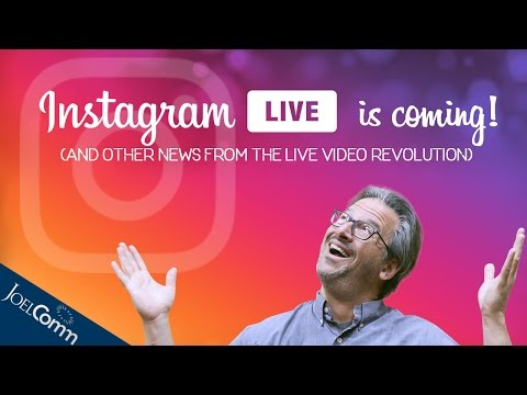 Big News from the Live Video World - November 2016