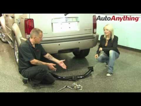 Install Curt Trailer Hitch On Dodge Nitro Autoanything