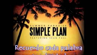 Summer Paradise - Simple Plan Ft. Sean Paul (Subtitulado al Español)