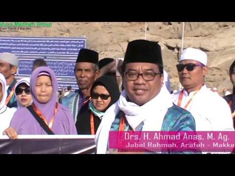 Umroh Cahaya Madinah Semarang (tahun baru 2017), bersama ustad anas