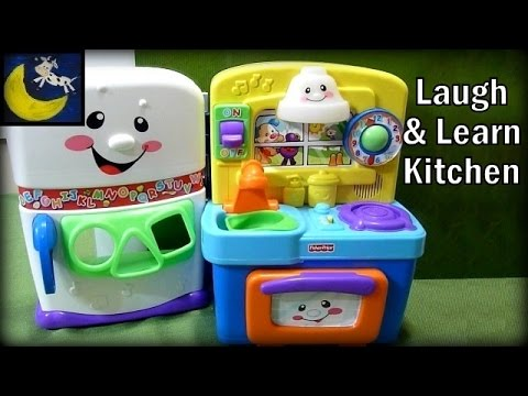 Fisher Price Laugh And Learn Learning Kitchen (Best Pretending Toy!)