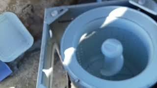 LM assistência técnica fazendo troca do gabinete Lte 09  vídeo 1