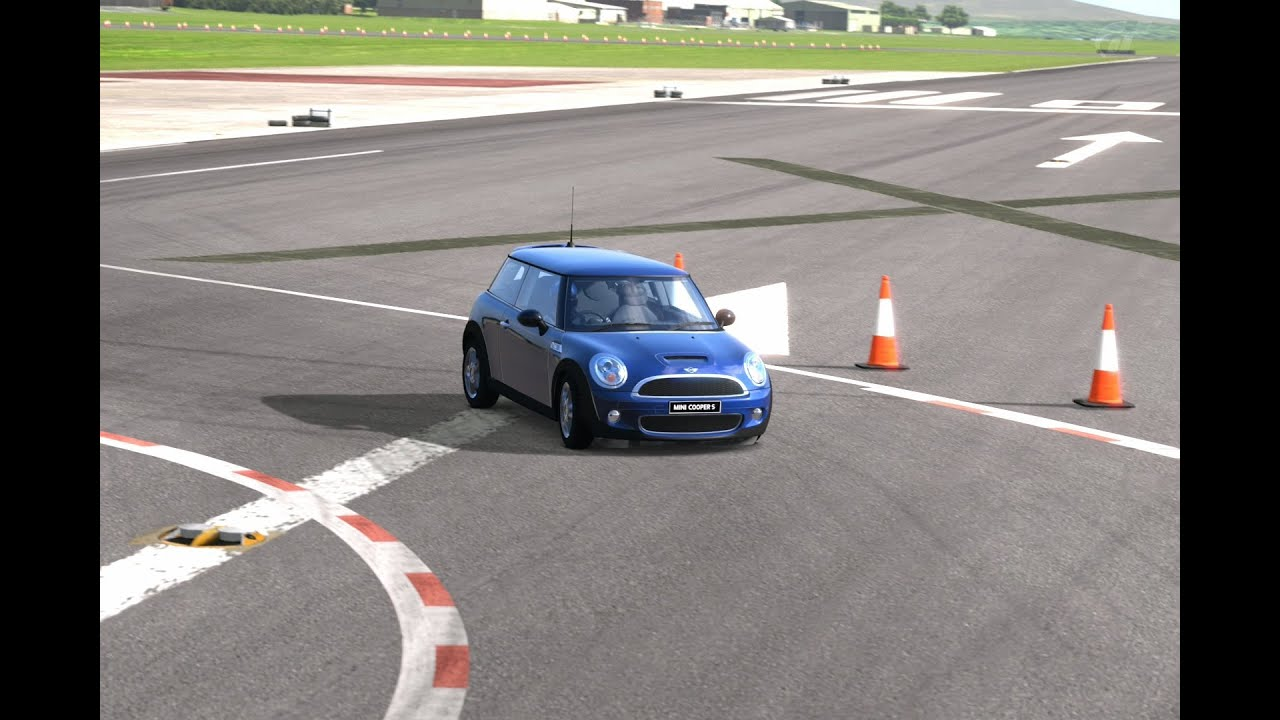 Mini Cooper S 07 Top Gear Test Track Youtube