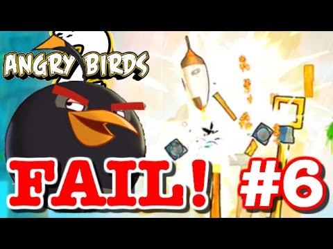 Angry Birds 2 - Gameplay Walkthrough Part 6 -BIGGEST FAIL EVER!  MEET BOMB! - Levels 35 - 40