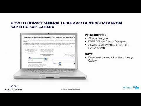 Learn how you can easily extract SAP General Ledger