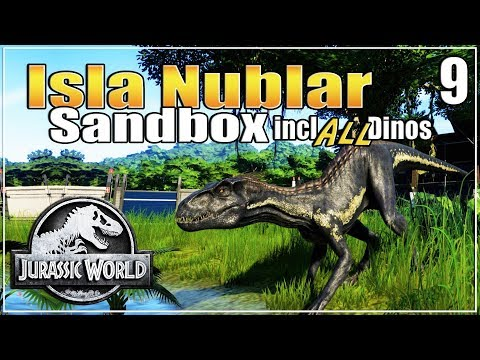 Let's build the Ultimate Dino Park | with ALL dinosaurs | Sandbox | Jurassic World Evolution | Ep. 9