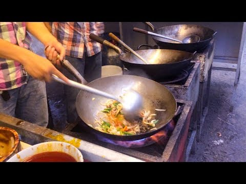 Asian Street Food - Fast Food Street in Asia, Cambodian food #129