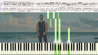 Despacito - Luis Fonsi ft.  Daddy Yankee (Ноты и Видеоурок для фортепиано) (piano cover)