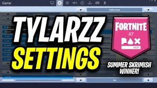 Tylarzz Fortnite Settings and Keybinds (Fortnite PAX West Winner)