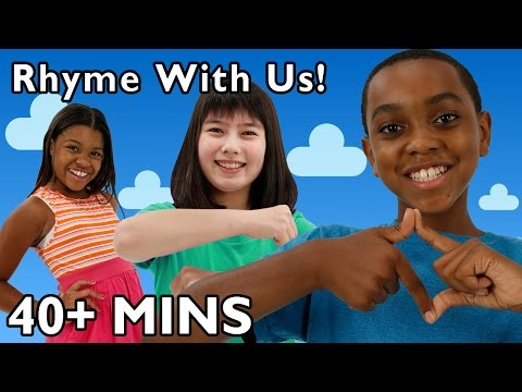 Rhyme With Us 2 | Mother Goose Club Playhouse Nursery Rhymes