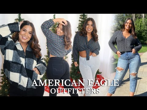 AMERICAN EAGLE Try on Haul + Holiday Gift Guide!