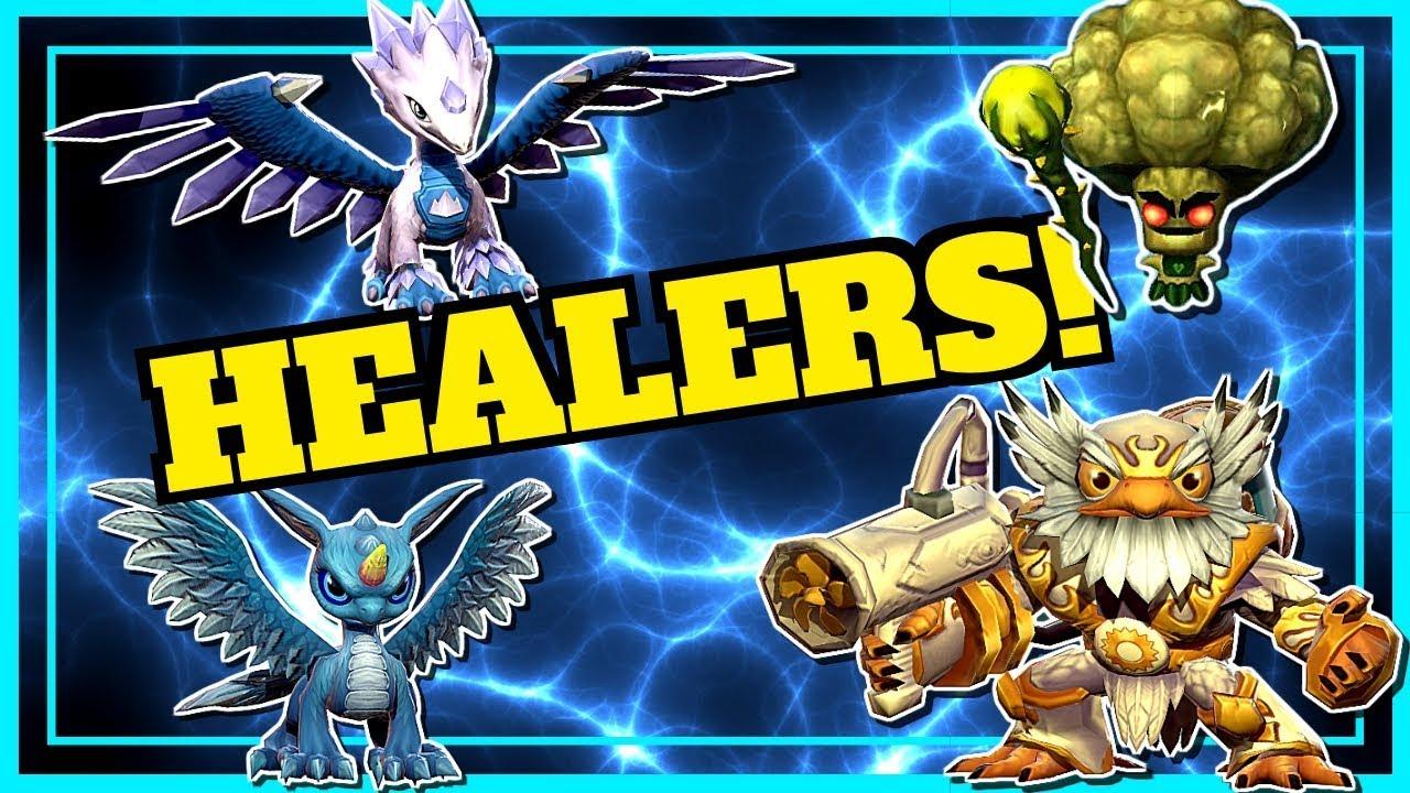 Skylanders Ring Of Heroes Top Healers