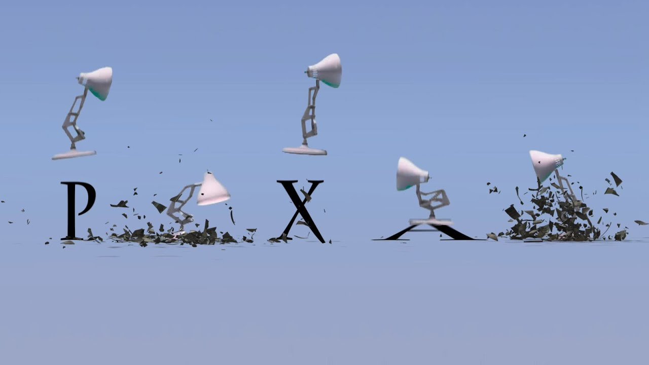 170 Five Pixar Lamps Luxo Jr Break Down All PIXAR Logo   YouTube