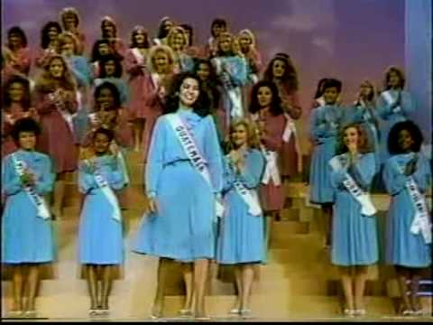Miss Universo 2017 >> MISS UNIVERSE 1984 Top 10 Announcement - YouTube