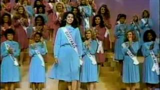 MISS UNIVERSE 1984 Top 10 Announcement