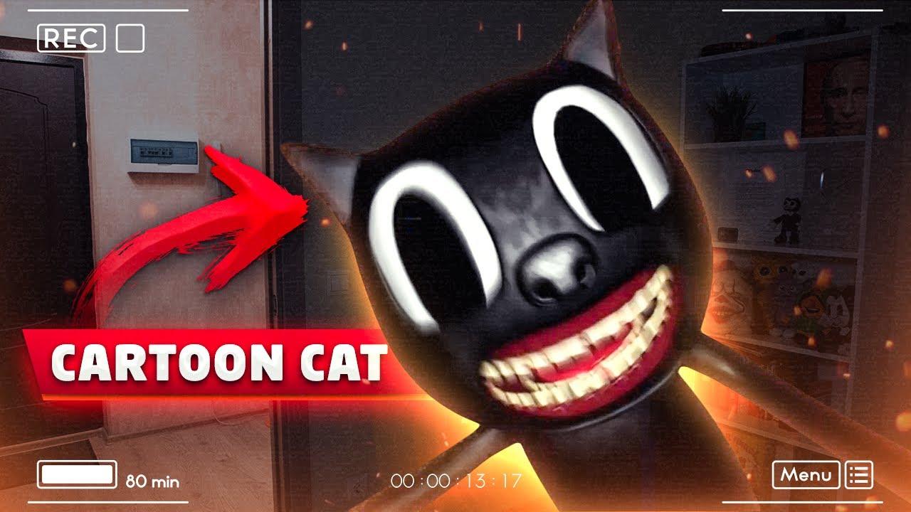 ВЫ НЕ ПОВЕРИТЕ МОЯ КАМЕРА СНЯЛА РЕАЛЬНОГО CARTOON CAT *он напал на меня*