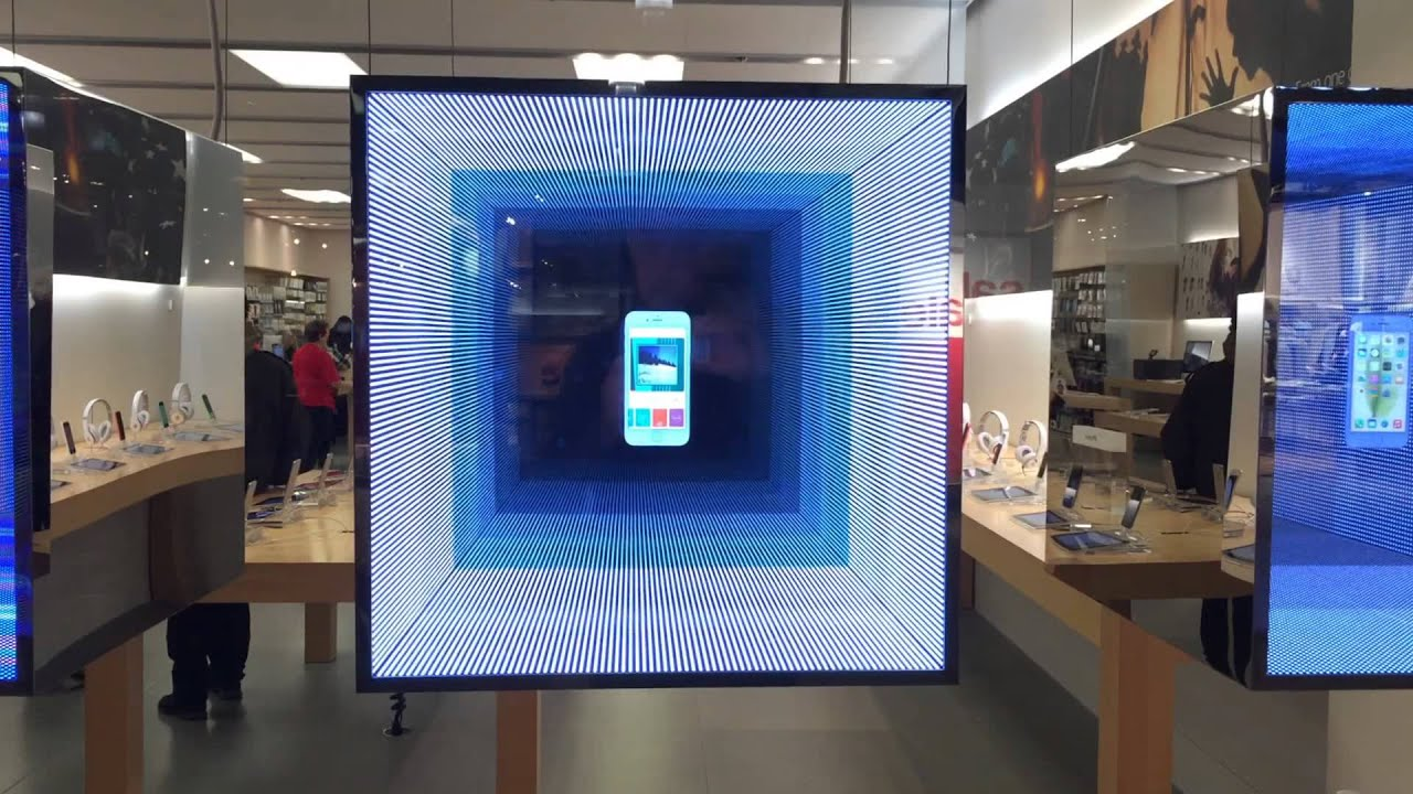 2014 Apple Store Holiday Window Display Youtube
