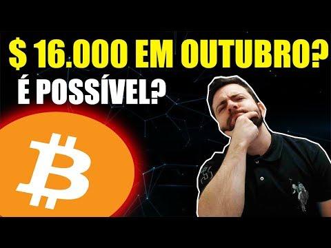 Vidente Diz Que Bitcoin Chegará Em $ 16.000 Em Outubro! Verdade Ou Mentira?