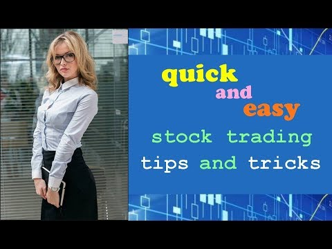 Quick & Easy Stock Trading Tips & Tricks. Plus, Announcements // simple strategies basics 101 tip